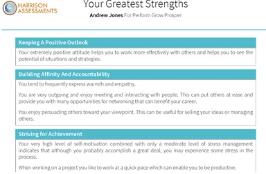 Know Your Strengths and Find Your Perfect Career